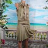 Платье нарядное с разрезами 44-46р