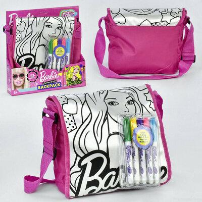 Набор для творчества Раскрась сумку JX 20198 B, Barbie