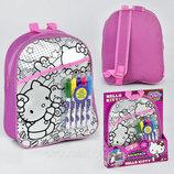 Набор для творчества Раскрась сумку JX 20187 Н, Hello Kitty