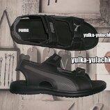 Кожаные мужские сандалии Puma-стиль