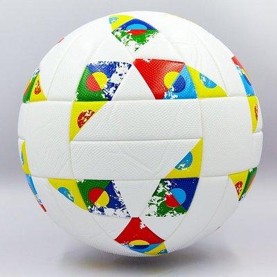 Мяч футбольный 5 Nations League 0076 PVC, клееный