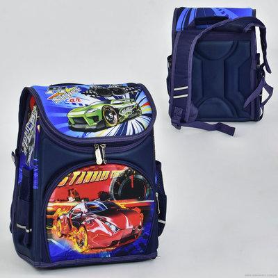 Рюкзак школьный N 00118, 2 отделения, 2 кармана, спинка ортопедическая