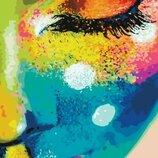 Картина по номерам. Brushme Женщина в красках GX21715.