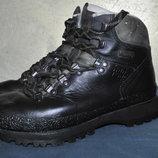 Треккинговые кожаные мембранные ботинки Han Wag
