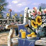 Картина по номерам. Brushme Утро в саду GX4660