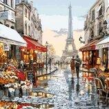Картина по номерам. Brushme Париж после дождя GX8090