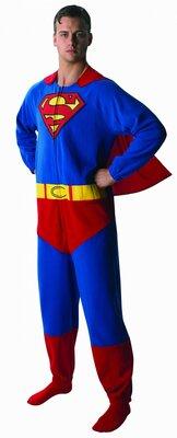 Супермен кигуруми слип пижама человечек 46