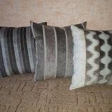 Комплект декоративных двухсторонних подушек для дивана, кресла, автомобиля, уличной мебели. Новые