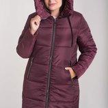 Зимняя куртка, утеплитель силикон 250 . Размеры 50-64 Особенности уступ по низу полочки, капюшо