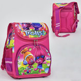 Рюкзак школьный N 00119 Тролли , 1 отделение, 3 кармана, спинка ортопедическая