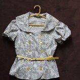 Блуза с ремешком