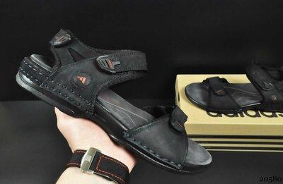 Сандалии мужские Adidas черно-синие 40-45р