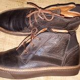 43р-28.5 кожа туфли Otto Kern туфли отличного качества вся стелька 28.5 прошиты 2 раза, отличное ка
