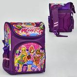 Рюкзак школьный N 00121 Winx , 1 отделение, 3 кармана, спинка ортопедическая