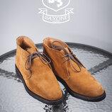 Дезерты Saxone, Англия 41,5-42р мужские ботинки туфли кожаные сапоги