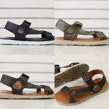 Мужские кожаные сандалии, натуральная кожа, код ks-8207