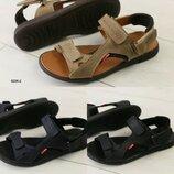 Мужские кожаные сандалии, натуральная кожа, код ks-8206