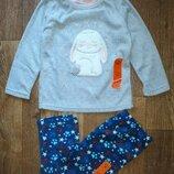 Пижама Primark на 2-3 года микрофлис