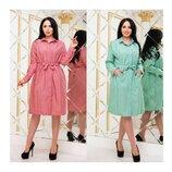 Женское платье рубашка мод.5200 Хл