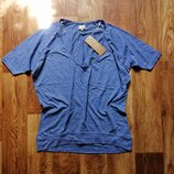 Полосатая футболка свободного кроя