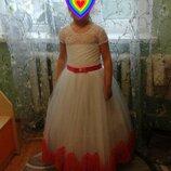 Платье нарядное на выпускной в садик