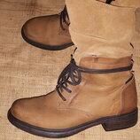 38р-25-25.5 нубуковая кожа ботинки Vado утеплены