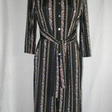 Стильное платье рубашка с цветочным принтом monsoon 12p