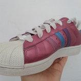 Кроссовки Adidas Superstar натур кожа оригинал 38 размер