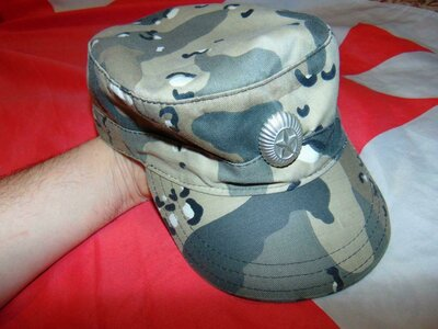 Фирменная военная милитари кепка хаки .Miltex.55-56