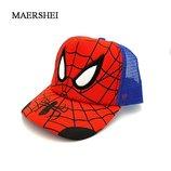 Детская кепка Спайдермен, кепки, бейсболка , новые