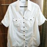 56-58 размер блузка хлопок тонкий от Maxiblue