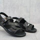 Мужские босоножки, сандалии, натуральная кожа, код gavk-1006