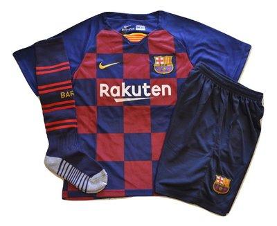 Футбольная форма Барселона сезон 2019/20 гетры детские Барселона