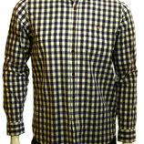 Натуральная рубашка в клетку Ted Baker