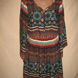 Интересное вискозное платье South р-р12