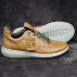 Мужские кроссовки из кожи яка Ecco scinapse Оригинал 39-40р. 25,8 см.