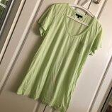 Tommy Hilfiger нежнейшая тонкая удлиненная женская футболка