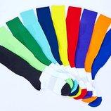 Гетры футбольные мужские 08L 40-45 размер, нейлон хлопок 10 цветов