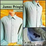 Рубашка светло зеленого цвета James Pringle, оригинал, р.ХL, новая с биркой