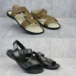 Мужские босоножки, сандалии, натуральная кожа, код gavk-701