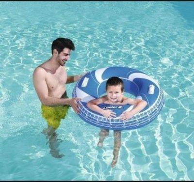 Круг 36093 С Ручками. Надувной круг для плаванья. Надувний круг для плавання. Круг для дітей.