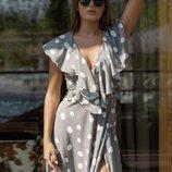 Платье на запах «Клеопатра» 42 - 44 три расцветки