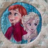 Пончо Disney Холодное сердце 2-5 лет.