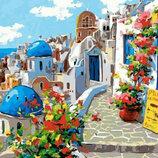 Картина По Номерам. BRUSHME Лето Санторини GX22383