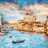 Картина По Номерам. BRUSHME Небесная Венеция GX22296
