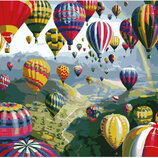 Картина По Номерам. BRUSHME Разноцветные Шары GX6524