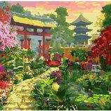 Картина По Номерам. BRUSHME Ворота В Японский Сад GX25188