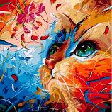 Картина По Номерам. BRUSHME Фантастическая Кошка G484