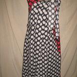 Вискозное платье Monsoon р-р10