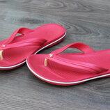 Шлепанцы сланцы crocs red 39-40 размер